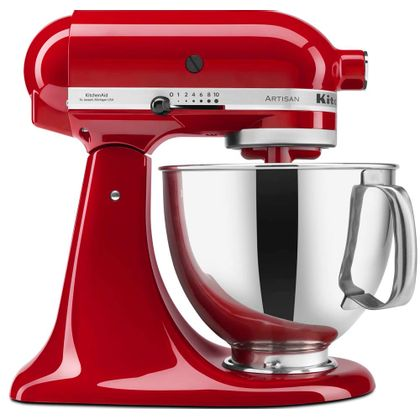 Batedeira Stand Mixer Artisan - Empire Red 110V