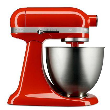 Batedeira Stand Mixer KitchenAid Artisan Mini Hot Sauce - KEA25AH 110V