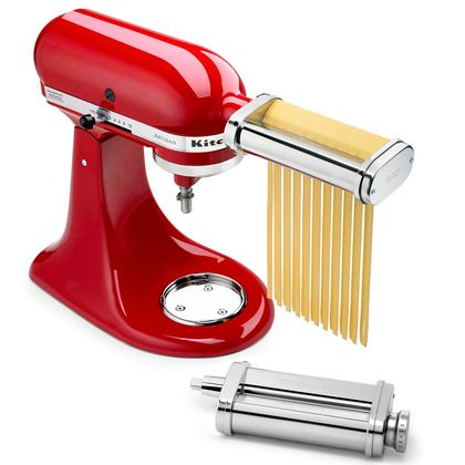 Kit Batedeira Stand Mixer + Set Pasta Fettuccine 110V