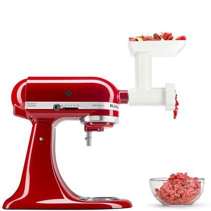 Kit Batedeira Stand Mixer + Moedor De Alimentos 110V